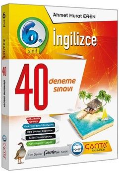 Çanta Yayınları 6. Sınıf İngilizce 40 Deneme