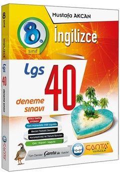Çanta Yayınları 8. Sınıf LGS İngilizce 40 Deneme