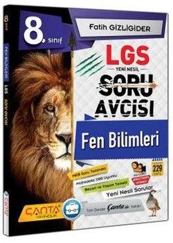 Çanta Yayınları 8. Sınıf LGS Fen Bilimleri Soru Avcısı