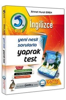 Çanta Yayınları 5. Sınıf İngilizce Yaprak Test