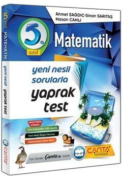 Çanta Yayınları 5. Sınıf Matematik Yaprak Test