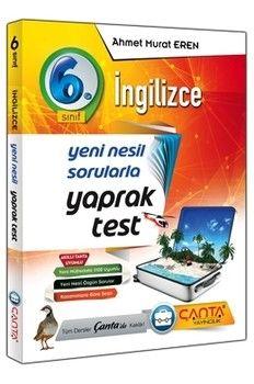 Çanta Yayınları 6. Sınıf İngilizce Yaprak Test