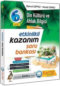 Çanta Yayınları 6. Sınıf Din Kültürü ve Ahlak Bilgisi Etkinlikli Kazanım Soru Bankası