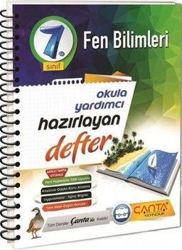 Çanta Yayınları 7. Sınıf Fen Bilimleri Hazırlayan Defter