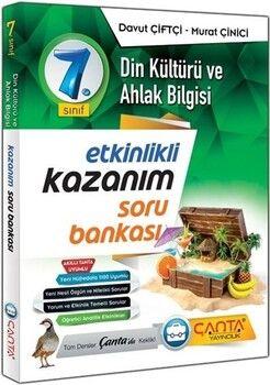 Çanta Yayınları 7. Sınıf Din Kültürü ve Ahlak Bilgisi Etkinlikli Kazanım Soru Bankası