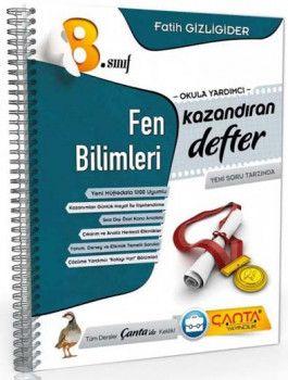Çanta Yayınları 8. Sınıf Kazandıran Fen Bilimleri Defter