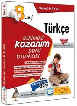 Çanta Yayınları 8. Sınıf Kazandıran Türkçe Soru Bankası