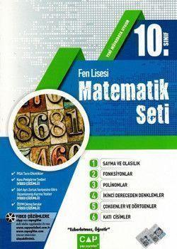 Çap 10. Sınıf Matematik Seti Fen Lisesi
