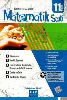 Çap 11. Sınıf Anadolu Lisesi Matematik Seti