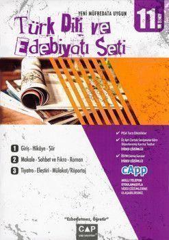 Çap 11. Sınıf Türk Dili ve Edebiyatı Seti