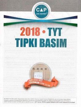 Çap 2018 TYT Tıpkı Basım
