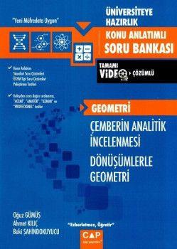 Çap Üniversiteye Hazırlık Geometri Çemberin Analitik İncelenmesi Dönüşümlerle Geometri Konu Anlatımlı Soru Bankası