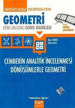 Çap Geometri Çemberin Analitik İncelenmesi Dönüşümlerle Geometri Konu Anlatımlı Soru Bankası