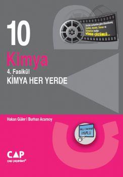 Çap Yayınları 10. sınıf Kimya 4. Fasikül Kimya Her Yerde
