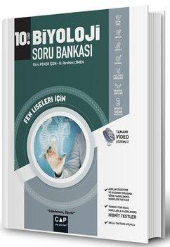 Çap Yayınları 10. Sınıf Fen Lisesi Biyoloji Soru Bankası