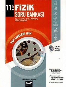 Çap Yayınları 11. Sınıf Fen Lisesi Fizik Soru Bankası