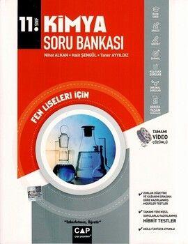 Çap Yayınları 11. Sınıf Fen Lisesi İçin Kimya Soru Bankası