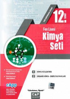 Çap Yayınları 12. Sınıf Fen Lisesi Kimya Seti