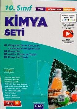 Çap Yayınları 10. Sınıf Kimya Anadolu Seti