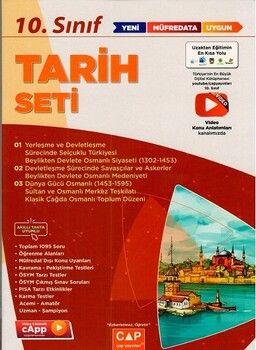 Çap Yayınları 10. Sınıf Tarih Anadolu Seti