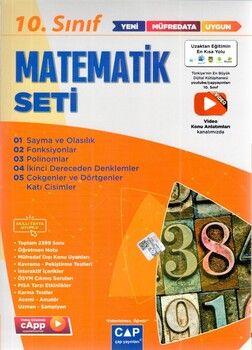 Çap Yayınları 10. Sınıf Matematik Anadolu Seti
