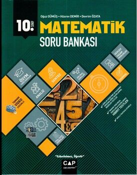 Çap Yayınları 10. Sınıf Matematik Anadolu Soru Bankası