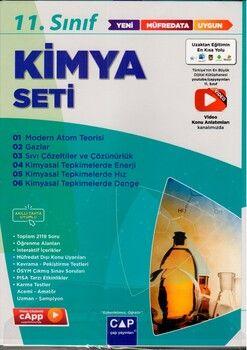 Çap Yayınları 11. Sınıf Kimya Anadolu Seti