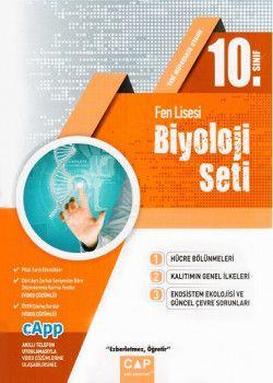 Çap Yayınları 10. Sınıf Fen Lisesi Biyoloji Seti