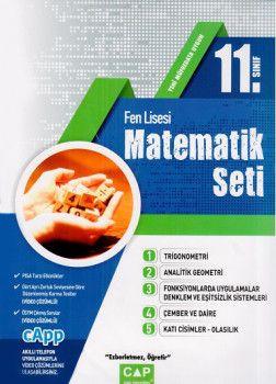 Çap Yayınları 11. Sınıf Fen Lisesi Matematik Seti