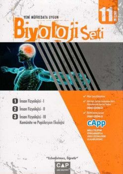 Çap Yayınları 11. Sınıf Anadolu Lisesi Biyoloji Seti