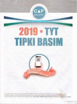 Çap Yayınları 2019 TYT Tıpkı Basım