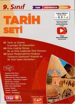 Çap Yayınları 9. Sınıf Tarih Anadolu Seti