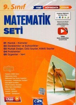 Çap Yayınları 9. Sınıf Matematik Anadolu Seti