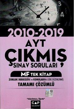 Çap Yayınları AYT MF Tek Kitap Tamamı ÇözümlüÇıkmış Sınav Soruları