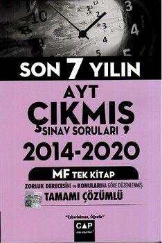 Çap Yayınları AYT MF Tek Kitap Tamamı Çözümlü Çıkmış Sınav Soruları
