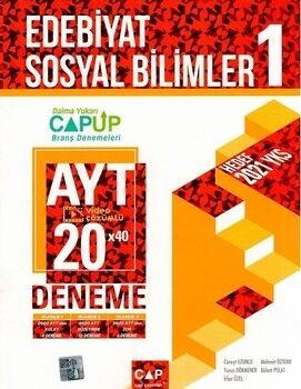 Çap Yayınları AYT Edebiyat Sosyal Bilimler 1 Up 20 x 40 Deneme