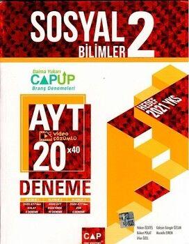 Çap Yayınları AYT Sosyal Bilimler 2 Up 20 x 40 Deneme