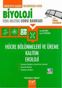 Çap Yayınları Biyoloji Hücre Bölünmeleri ve Üreme Kalıtım Ekoloji