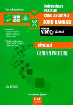 Çap Yayınları Üniversiteye Hazırlık Biyoloji Genden Proteine Konu Anlatımlı Soru Bankası
