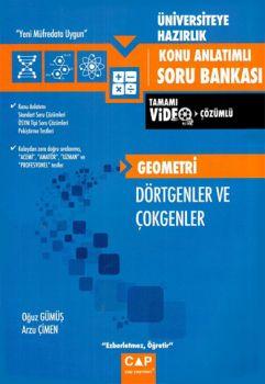 Çap Yayınları Üniversiteye Hazırlık Geometri Dörtgenler ve Çokgenler Konu Anlatımlı Soru Bankası