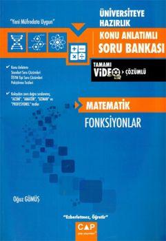 Çap Yayınları Üniversiteye Hazırlık Matematik Fonksiyonlar Konu Anlatımlı Soru Bankası