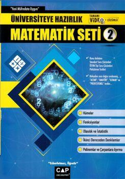 Çap Yayınları Üniversiteye Hazırlık Matematik Seti 2 Konu Anlatımlı Tamamı Video Çözümlü Sorular