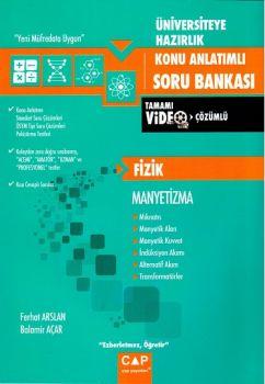 Çap Yayınları Üniversiteye Hazırlık Fizik Manyetizma Konu Anlatımlı Soru Bankası