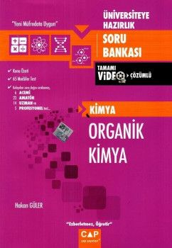 Çap Yayınları Üniversiteye Hazırlık Organik Kimya Tamamı Video Çözümlü Soru Bankası