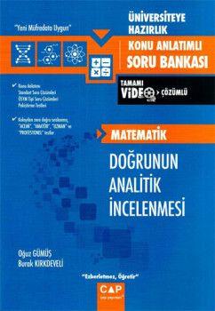 Çap Yayınları Üniversiteye Hazırlık Matematik Doğrunun Analitik İncelenmesi Konu Anlatımlı Soru Bankası