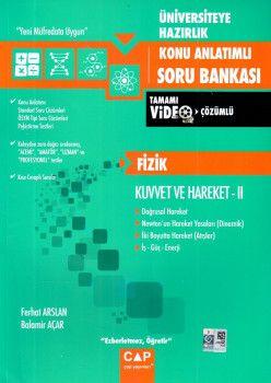 Çap Yayınları Üniversiteye Hazırlık Fizik Kuvvet ve Hareket 2 Konu Anlatımlı Soru Bankası