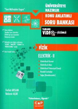 Çap Yayınları Üniversiteye Hazırlık Fizik Elektrik 2 Konu Anlatımlı Soru Bankası