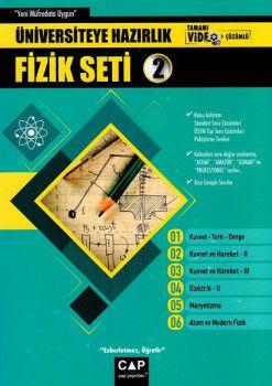 Çap Yayınları Üniversiteye Hazırlık Fizik Seti 2 Tamamı Video Çözümlü