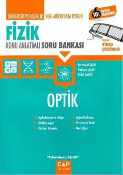 Çap Yayınları Üniversiteye Hazırlık Fizik Optik Konu Anlatımlı Soru Bankası