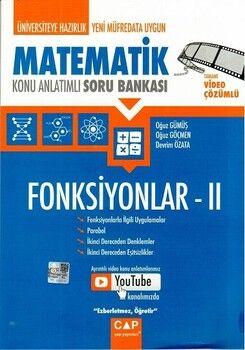 Çap Yayınları Üniversiteye Hazırlık Matematik Konu Anlatımlı Soru Bankası Fonksiyonlar II
